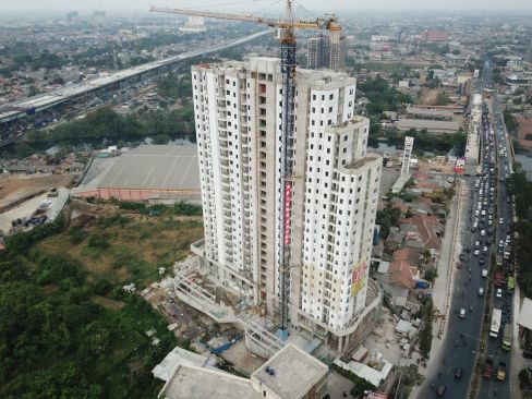 On Going Project TThamrin Disctric Apartment – Bekasi 14 tda12