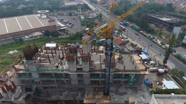 On Going Project TThamrin Disctric Apartment – Bekasi 6 tda4